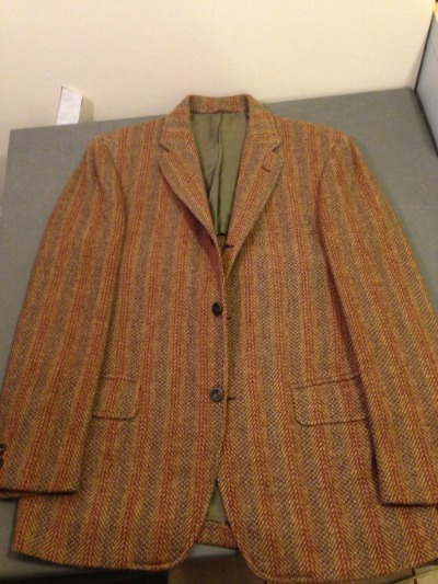 Vintage BB Tweed qith Vertical striipes