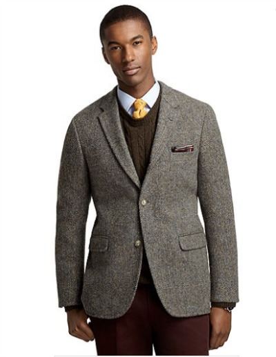 Cambridge Harris Tweed Crowsfoot Sport Coat