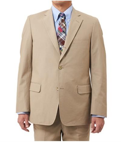 Khaki Poplin Sack Jacket