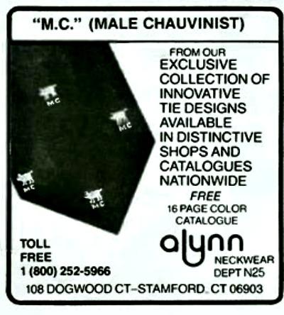 Male Chauvinist Pig Tie