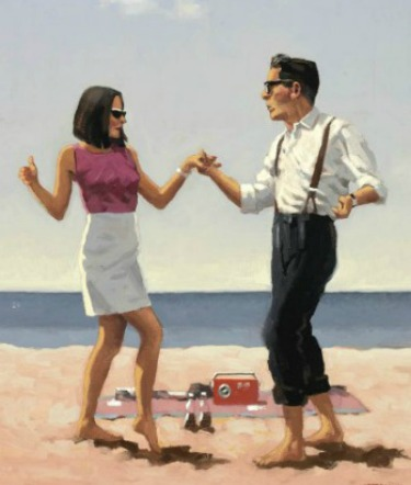 Romance paintings by Jack Vettriano