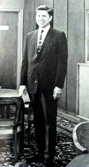 Man in suit 1963