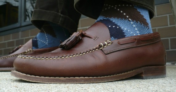 Bass Tassel Loafers