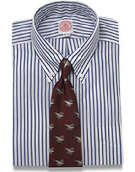 J.Press Blutcher Stripe Shirt
