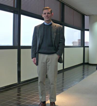 Sport Coat Sweater No Tie |