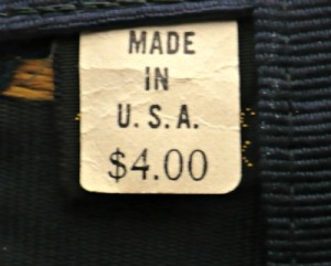 MADE IN U.S. A. Label