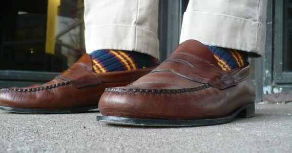 Brown Weejuns