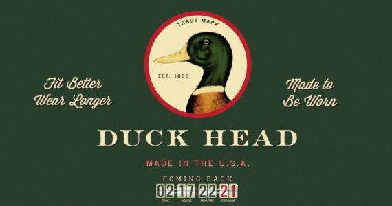 Duck Head Website