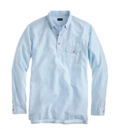 J Crew Popover Shirt