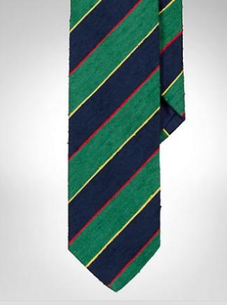 PRL Argyll & Sutherland Shantung Tie