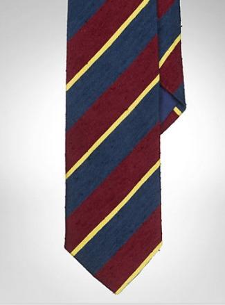 PRL Shantung Silk Tie
