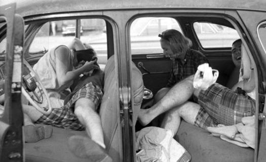 Girls in Cars