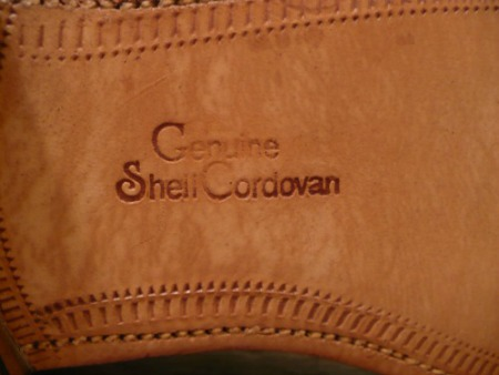 Genuine Shell Cordovan