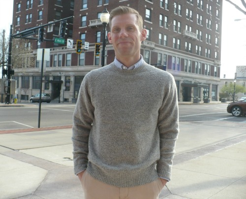 Mid Grey Lambswool Sweater