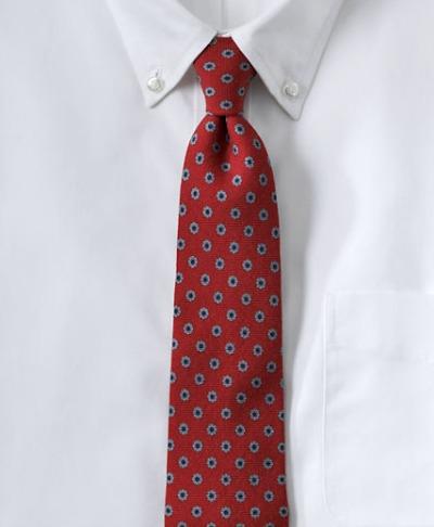 Wool Flower Neat tie
