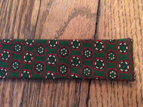 Green Vintage Bow Tie