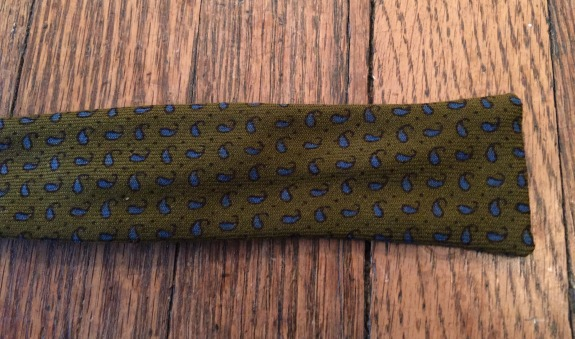 Green Wool Bow tie