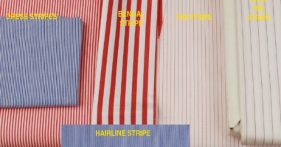 Common Types of Shirt Stripe - Features
