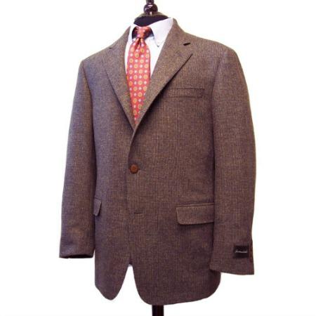 Samuelsohn 3/2 roll sack Sport Coat