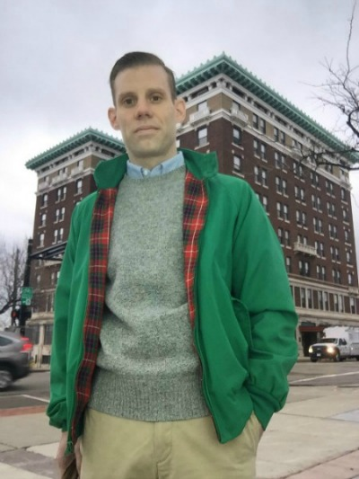Kelly Green Baracuta and Sweater