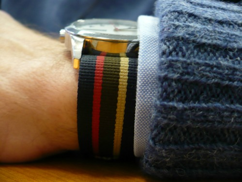 Shetland-Sweater-and-Watchband