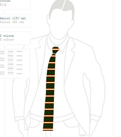 Knit Tie #4