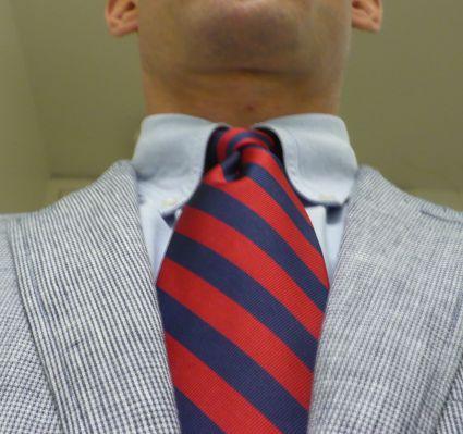 RedBlue Tie