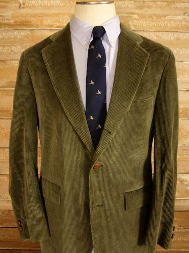 Olive Corduroy Sport Coat