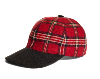 Brooks Brothers Tartan Ball Cap