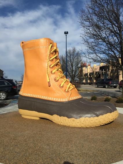Columbus Ohio Bean Boot