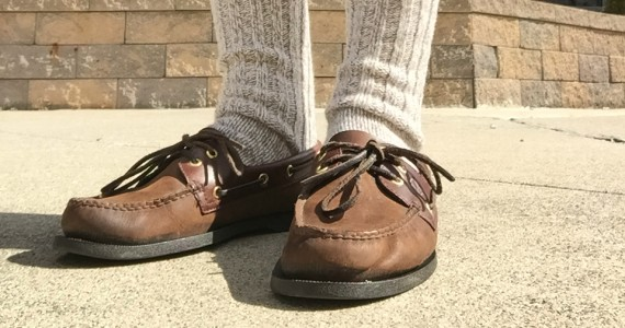 Ragg Wool Socks & Boat Shoes