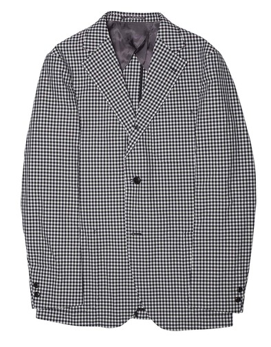 J.Press Blue Gingham Sport Coat