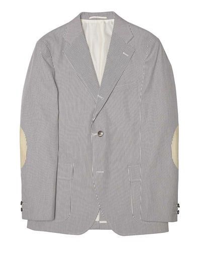 Press Blue Cord Sport Coat