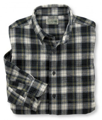 ll-bean-dress-gordon-flannel-shirt