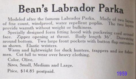 LL Bean Labrador Parka