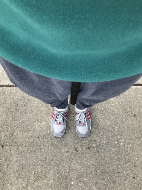 patagonia and sneakers