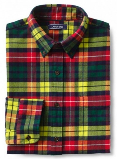Lands End Buchanan Tartan