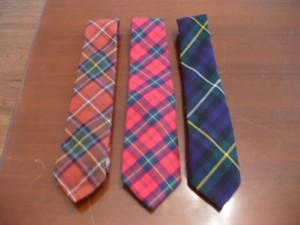 Wool Tartan Ties