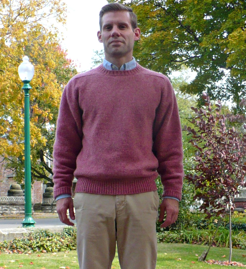 Trad Experiment Shrinking Wool Sweaters