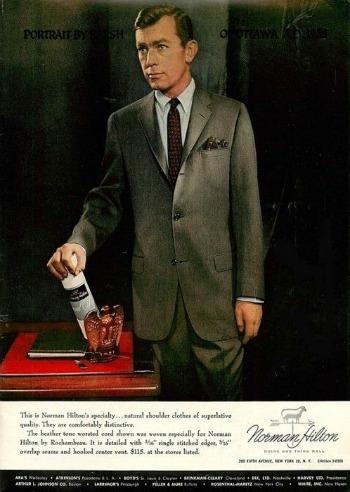 Norman Hilton Ad