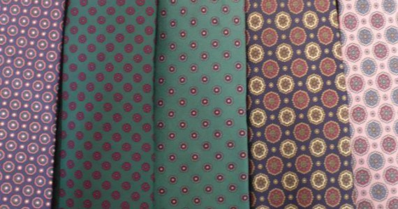 TieCollection-PatternClose-up