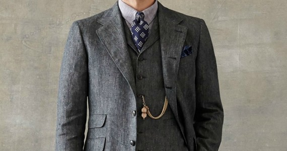 Four-Button Linen Jacket Featured 2