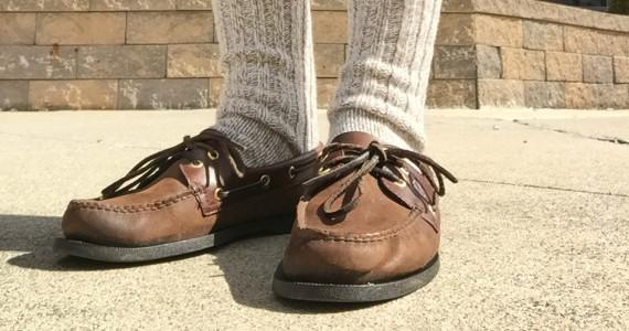 Ragg Wool Socks & Boat Shoes