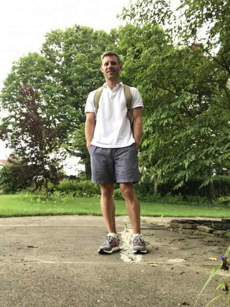 Polo Shirt & Sneakers