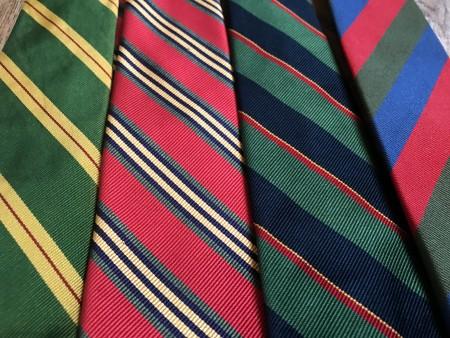 Summer Stripe ties