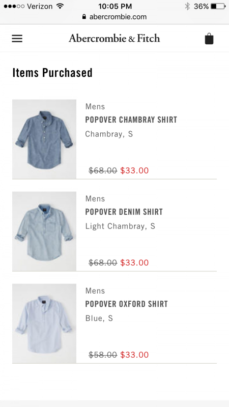 A&F Popovers Order
