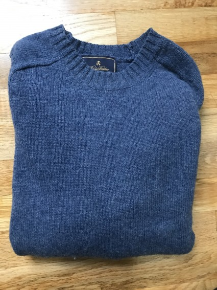 Brooks Brothers Clipper Blue Shetland