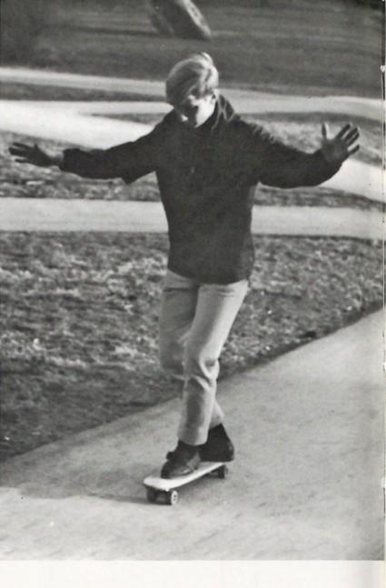 1965 Skateboarding OSU